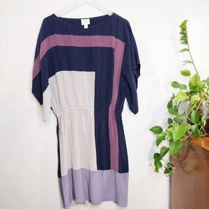 Suzi Chin for Maggie 100% Silk Size 10 Dress